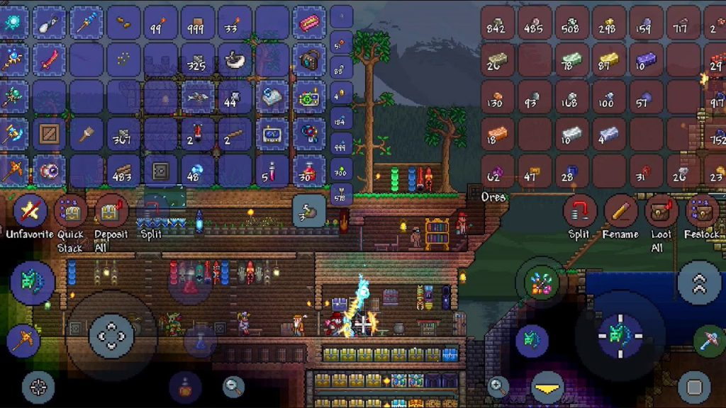 Terraria Has Been Upgraded To Boost Mobile Play On Android
